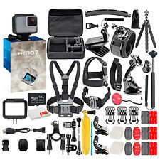 GoPro Hero7 White - Waterproof Action Camera with Touch Screen, Full Hd Video
