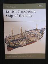 Osprey Book: British Napoleonic Ship-of-the-Line - NVG 42