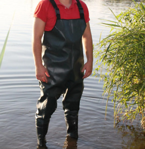 Jumpsuit fishing with knee pads, Waterproof, Hunting, fishing, hunting boots