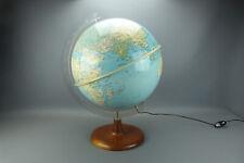 Ravissant globe terrestre Girard & Barrere Paris, vintage 70's, en très bon état