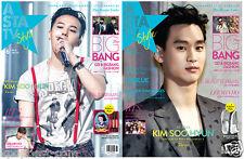 Asta tv + Style Magazine 201506 /Bigbang/BTS/Lee Min Ho/Kim Soo Hyun/Cnblue/Exid