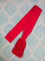 British Army Guards Shoulder Sash Red/Army Infantry /Sash