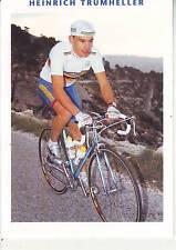 CYCLISME carte cycliste HEINRICH TRUMHELLER équipe  CASTORAMA