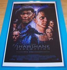 The Shawshank Redemption 11X17 Anniversary Movie Poster Robbins Freeman Gunton