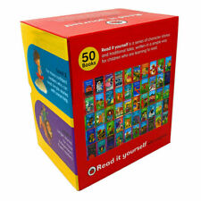 Read it Yourself with Ladybird Collection 50 Books Box Set Levels 1-4-Brand New
