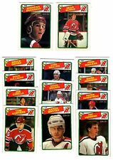 1X NJ DEVILS 1988 89 opc TEAM SET O Pee Chee NMMT Lots Available SHANAHAN Rookie