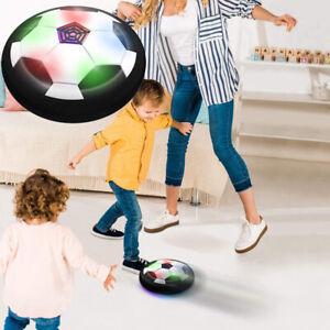Mini Hovering Football Air Cushion Flashing Soccer Educational Game Kids T MNMO