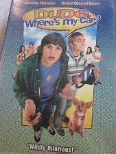 DUDE WHERE'S MY CAR DVD ASTHON KUTCHER USED