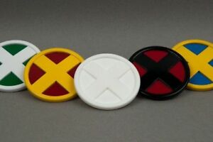 X-men Cosplay Medallion  (badge symbol insignia emblem wolverine xmen costume)