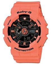Casio Baby-G * BA111-4A2 Anadigi Orange Watch for Women COD PayPal