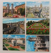 6x Genova Genova in Italia cartoline lot CARTOLINA ITALIANA POSTCARDS unused
