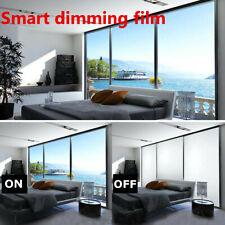 Frosted Window Glass Film Privacy Sticker Smart Sticky Back Translucent Home DIY