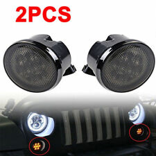 Smoke Lens LED Turn Signal Light Assembly for 2007-2014 2015 2016 JEEP WRANGLER