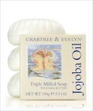 Crabtree Evelyn  JOJOBA OIL Soap  100g  each   ( Pack of 3 )