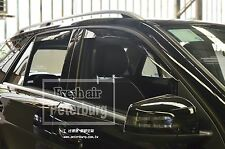 MIT for M.Benz ML-Class W166 In-channel Window Deflector Visors (2013-2015)