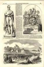 1855 James Graham commençant SILLOTH Railway