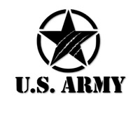 US Army Aufkleber Sticker Stern RETRO Autoaufkleber decal 24 #8042