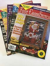 5~Just Cross Stitch Magazines/Years 1993 & 1994