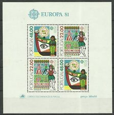 CEPT 1981-Folklore/ Portugal MiNr Block 32 **