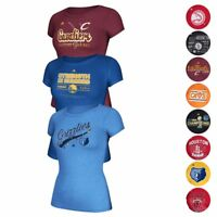 NBA Adidas Various Team Graphic Cap Sleeve Tri-Blend T-shirt Collection Women's