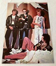 1977 Sex Pistols Rotten Sid Vicious Swedish Poster Magazine 1970s Vintage Rare