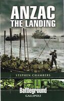 Anzac - The Landing: Gallipoli (Battleground Europe) 9781844157228