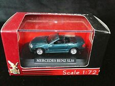 Yat Ming Road Signature Mercedes Benz SL55 1:72 Scale Die-Cast + Display Case