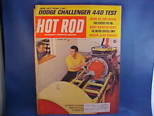 HOT ROD magazine December 1969 nice issue from private estate collection (12-69)