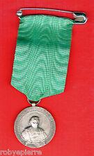 Medaglia nastro spilla CONDOTTA E DILIGENZA Istituto Gonzaga V b elem 1932 1933