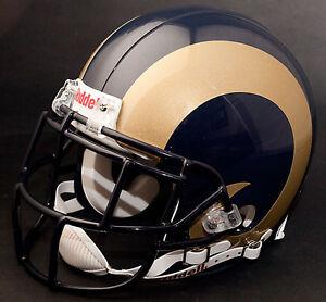 MARSHALL FAULK Edition ST. LOUIS RAMS Riddell REPLICA Football Helmet NFL