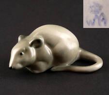 Porzellanfigur Kleine graue Maus Wagner&Apel 6x4x3cm 42108