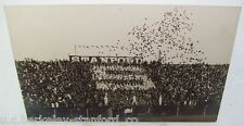 1911 California Bears vs. Stanford Indians BIG GAME Rugby FOOTBALL Game RPPC