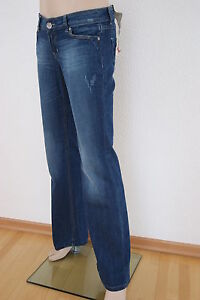 NEU! EDC BY ESPRIT JEANS USED-JEANS STRETCH DAMEN FIVE STRAIGHT FIT