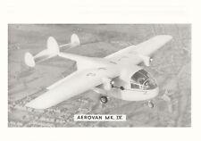 MILES M.57 AEROVAN - TECHNICAL INFORMATION MANUAL / M.71 MERCHANTMAN BROCHURE