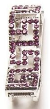 Hang Accessories Key Holder Purple Bling Holds Keys Inside Purse 2 1/2""