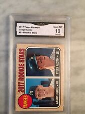 GEM MINT 10 2017 TOPPS HERITAGE AARON JUDGE RC ROOKIE CARD