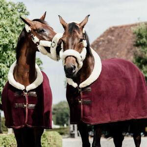 Kentucky Horsewear Fleece Show Heavy - bordeaux - Abschwitzdecke