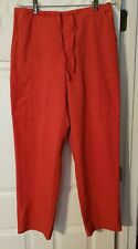 Dickies Women's Red Scrub Pants Size Large Excellent Condition