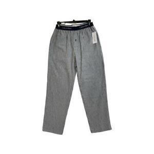Calvin Klein Logo Pyjama Bottoms, Black Strip Trouser All Sizes