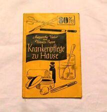 Krankenpflege zu Hause (1935) von Margarethe Vater / Ursula Puppe (Pflegeberufe)