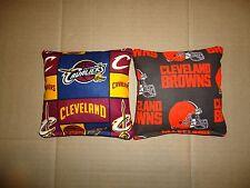 8 Cornhole Bean Bag Set  Cleveland Browns & Cavaliers