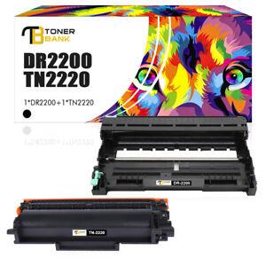 Toner+Trommel für Kompatibel Brother DR2200 7360N DCP-7055 TN2220 HL-2240 2250DN