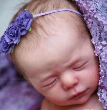 "Reborn Baby Doll Kit Luise By Karola Wegerich@19""@Free Flesh Suede Body"