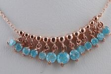 925 Sterling Silver Special Design Turkish Jewelry Handmade Turquoise Necklace