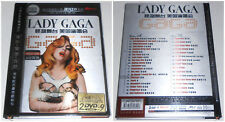 LADY GAGA 2 DVD BLU RAY 2009 (STAMPA CINESE)