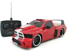 Remote Control Red Dodge RAM Racing Car Kids Children Play Toy RC Vehicle Gift