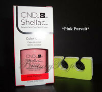 CND Shellac Pink Pursuit LED/UV Gel Polish .25oz New With Box + BONUS ITEM