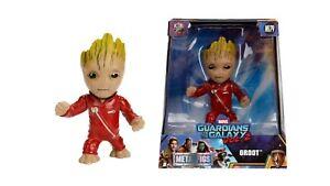"Marvel Metals Diecast 4"" Mini Figure Groot Guardians of the galaxy 2"