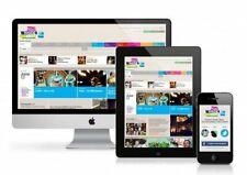 Responsive |Webdesign | Free Domain | | Host