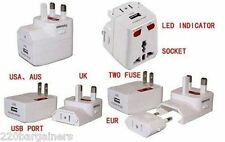 Universal USB Charger AC Plug Adapter Charge your USB Devices Worldwide